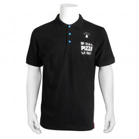Heren Polo - In real pizza we trust