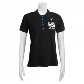 Dames Polo - In real pizza we trust